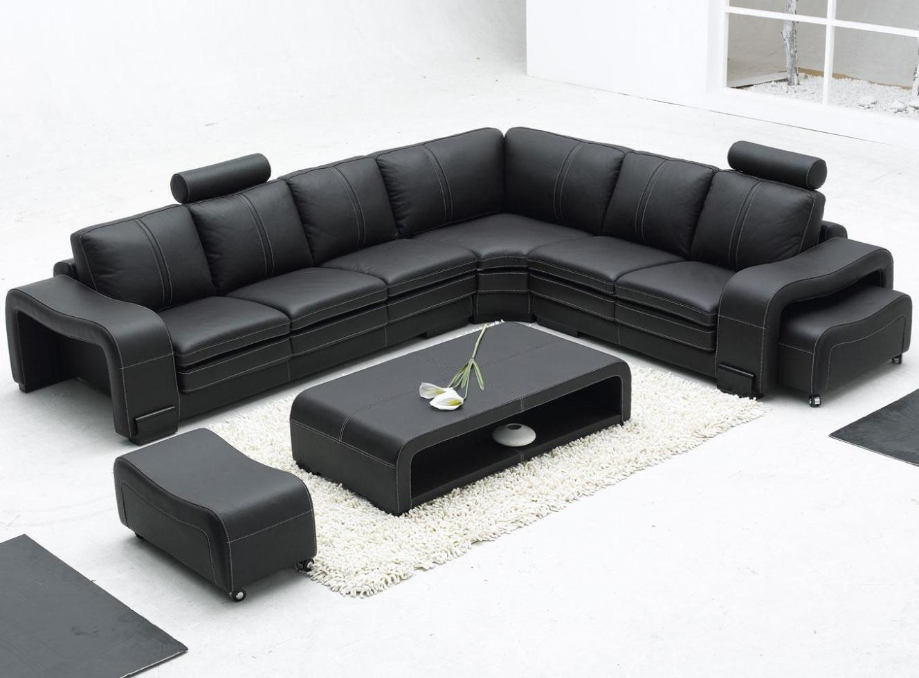 Image of: Modern Sectional Couches