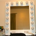 Modern Table Top Vanity Mirror With Light