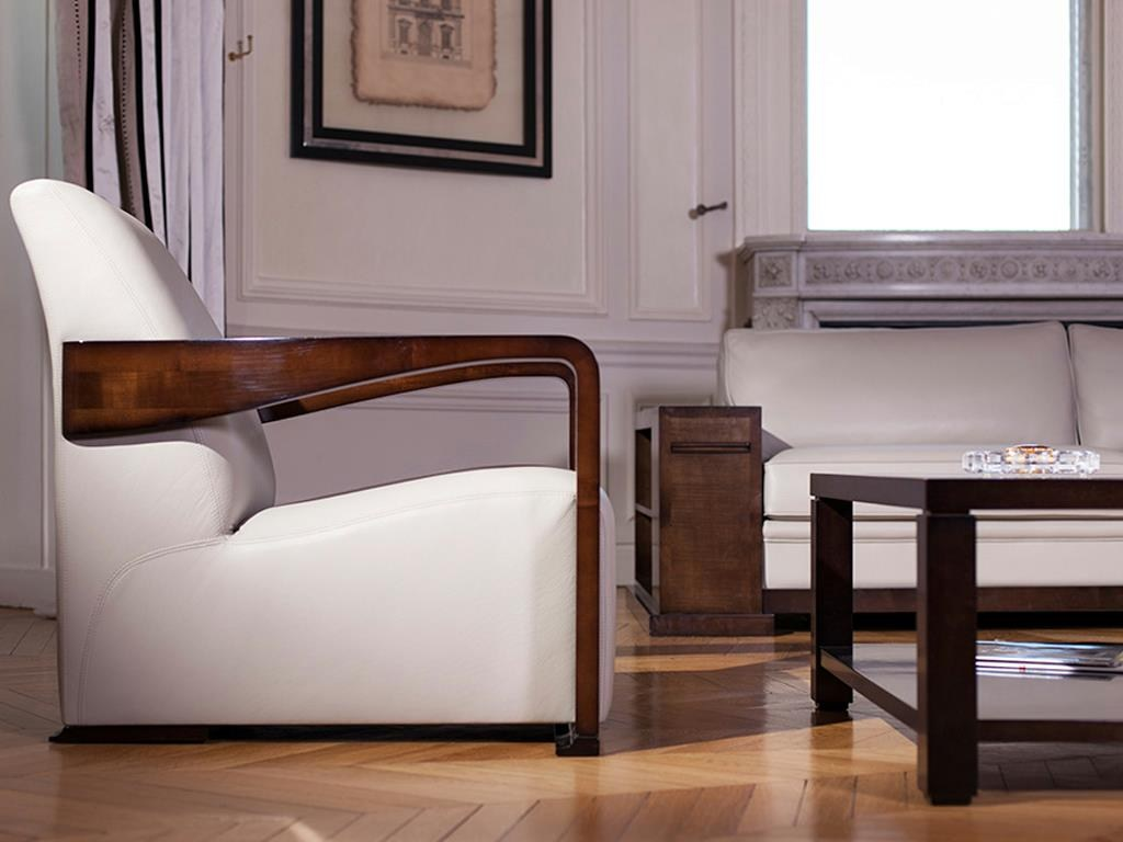 Image of: modern upholstered arm chair