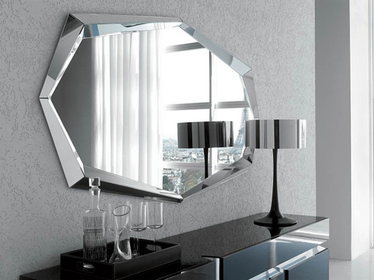 Modern Wall Mirrors Shapes