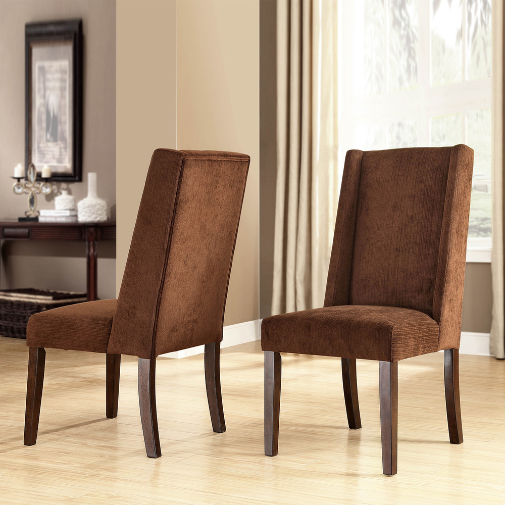 Image of: Modern Wingback Dining Chair