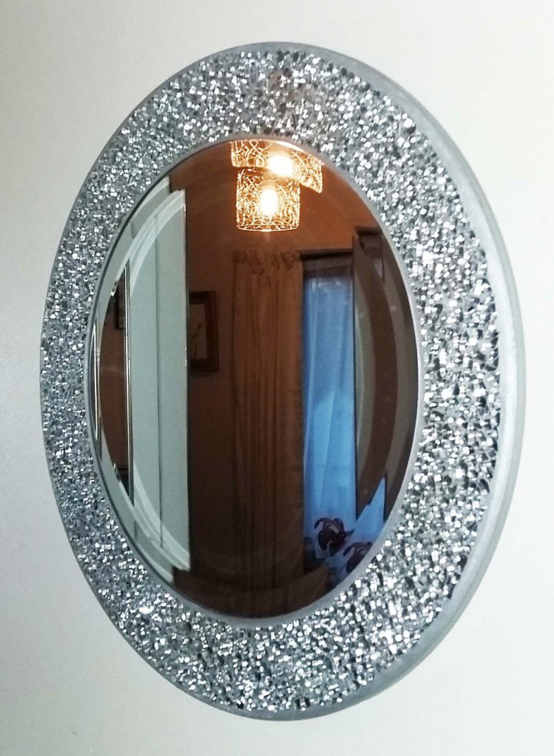 Image of: Moroccan Wall Mirror Round