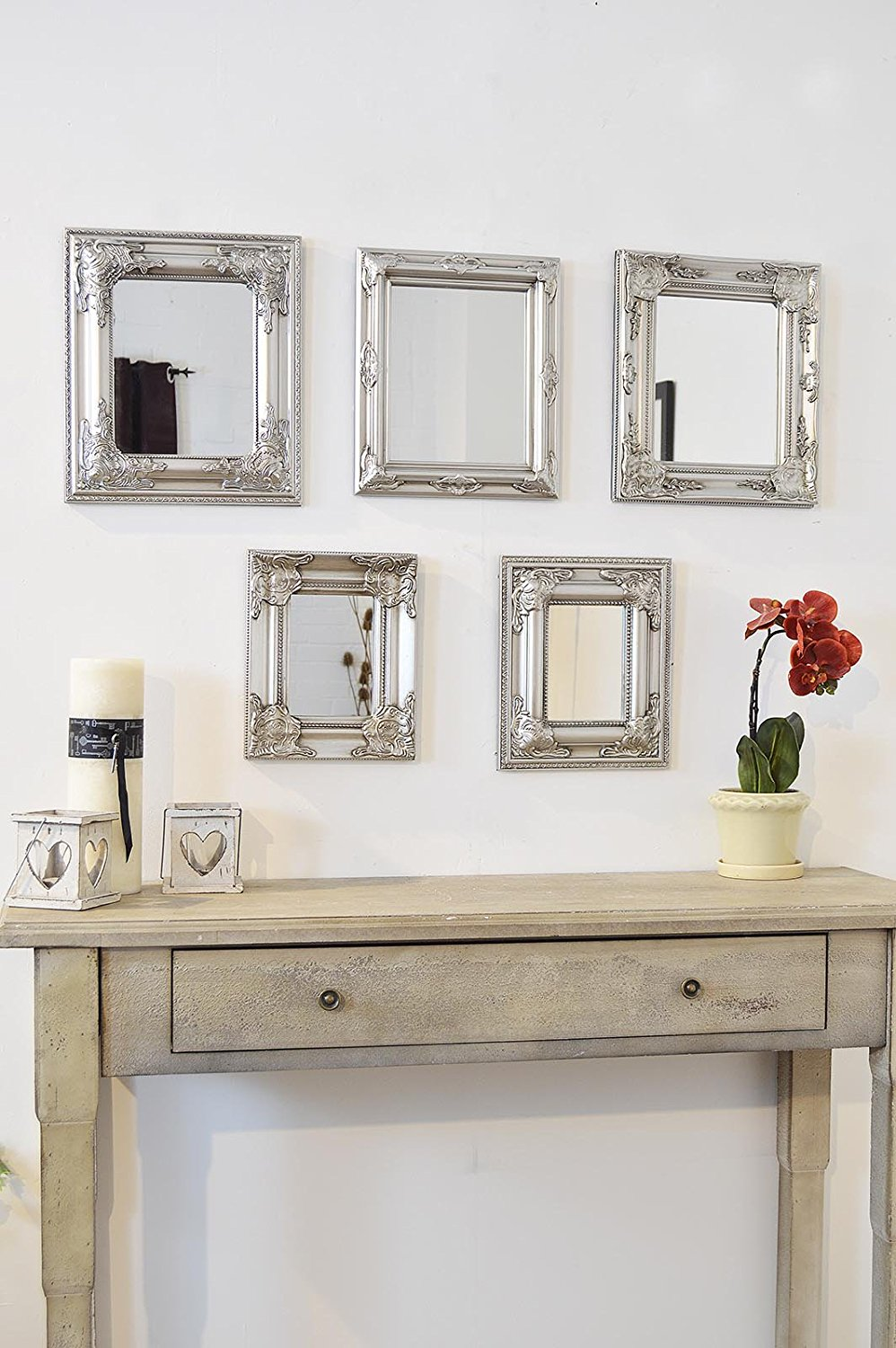 Image of: Moroccan Wall Mirror Small