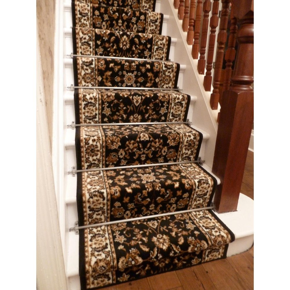 Image of: motive carpet runners for stairs