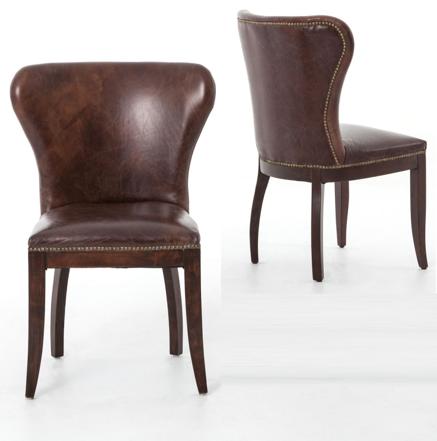 Image of: Nailhead Dining Chair Ideas