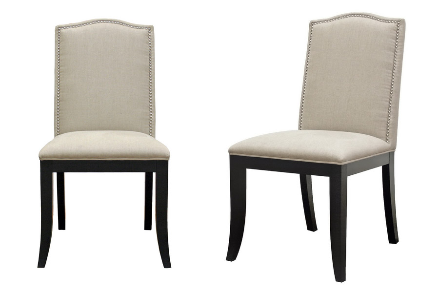 Image of: Nailhead Dining Chair