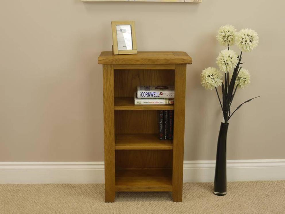 Image of: Narrow Short Bookcase