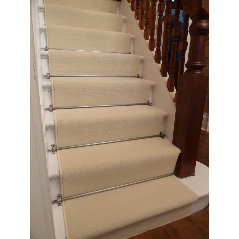 Image of: natural carpet runners for stairs