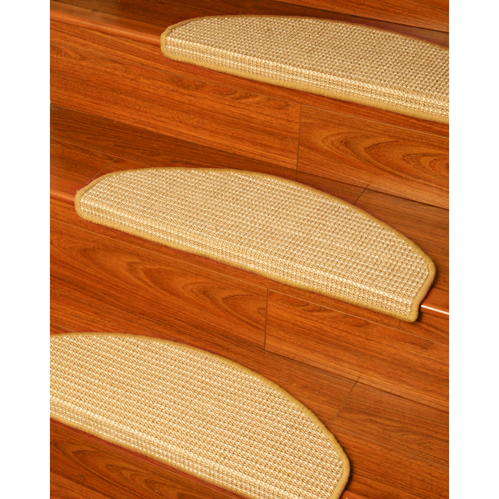 Image of: natural carpet stair treads