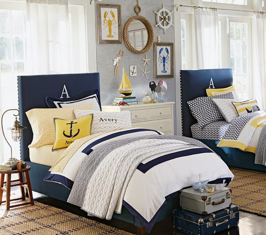 Image of: Nautical Ideas For A Bedroom