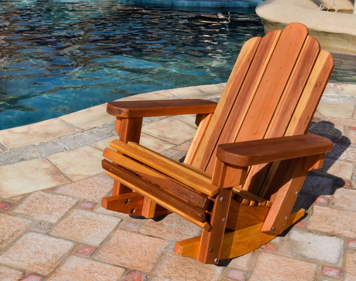 Image of: new adirondack rocking chair ideas