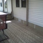 New Deck Skirting Material