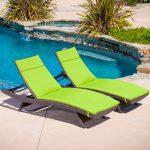 New Folding Chaise Lounge Chair
