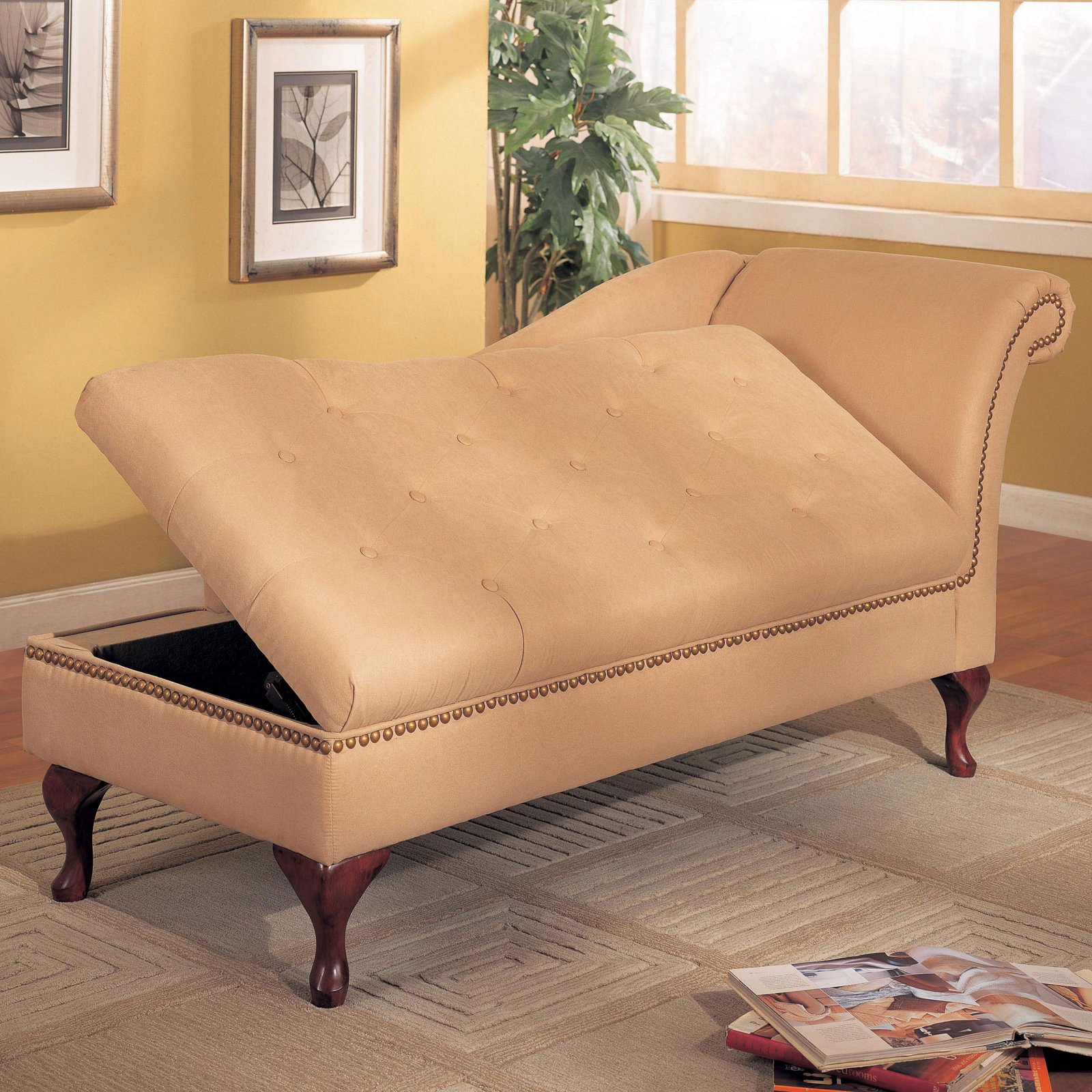 Image of: New Indoor Chaise Lounge Chair