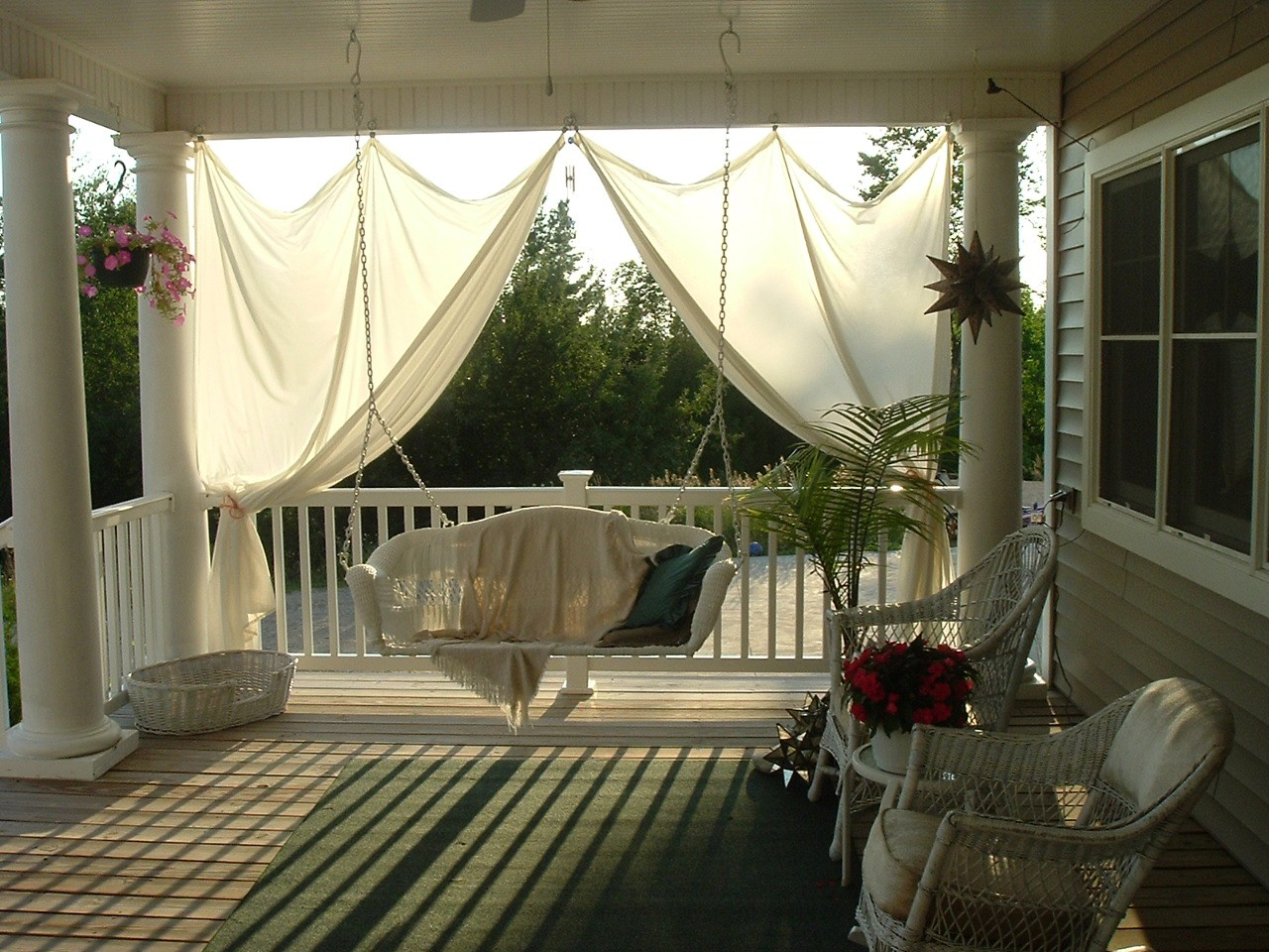 Nice Covered Deck Designs