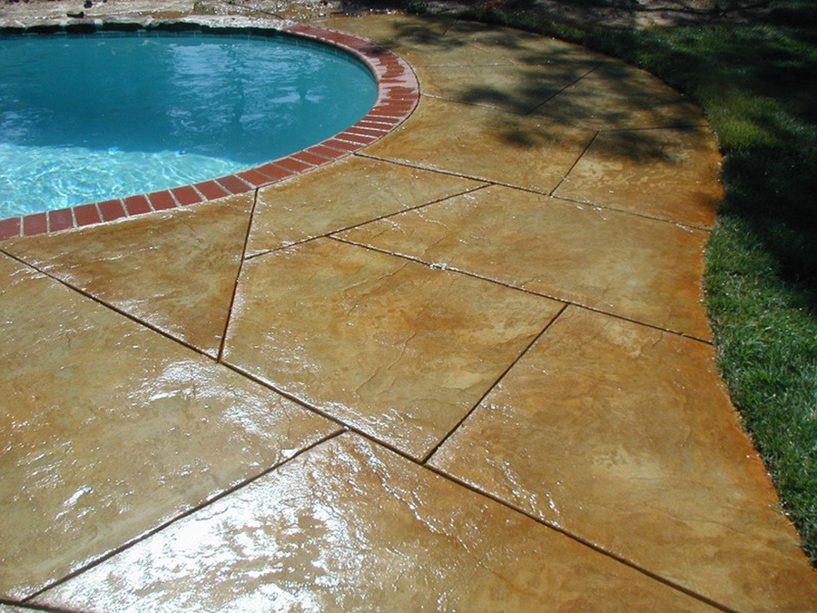 Image of: Nice Epoxy Deck Coating