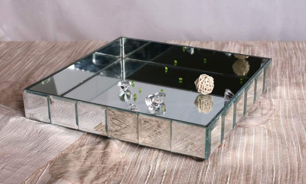 Nice Mirrored Vanity Tray