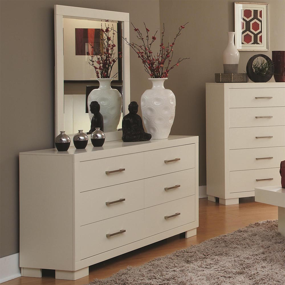 Image of: Nice Modern Dresser with Mirror