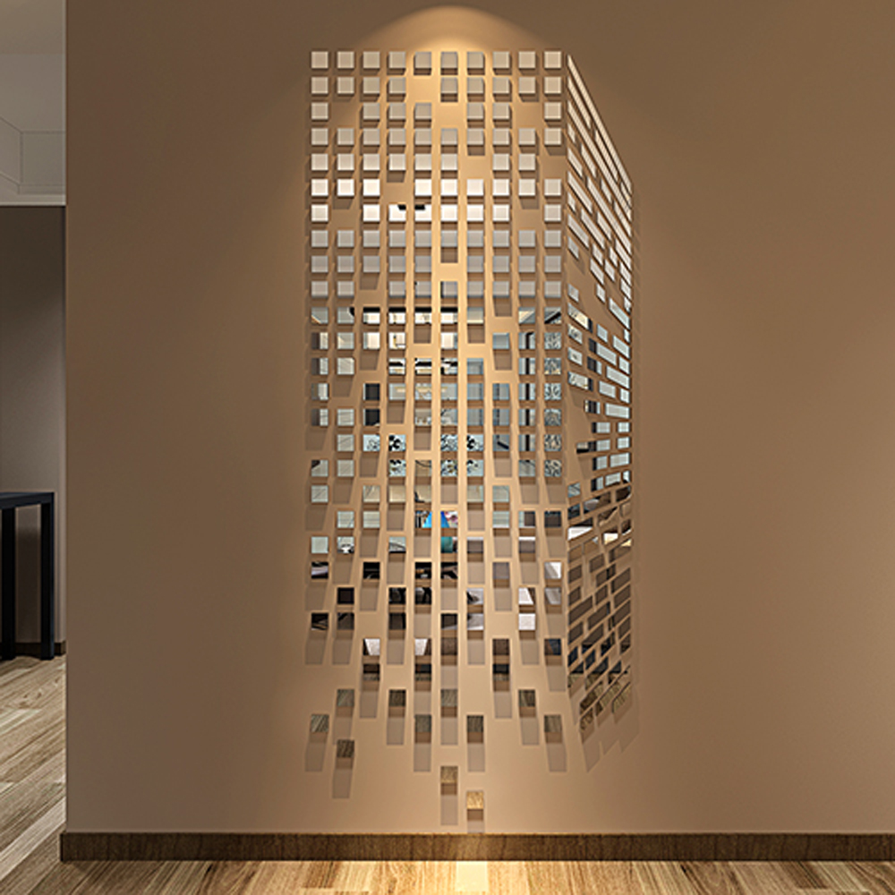 Image of: Nice Mosaic Mirror Wall Decor