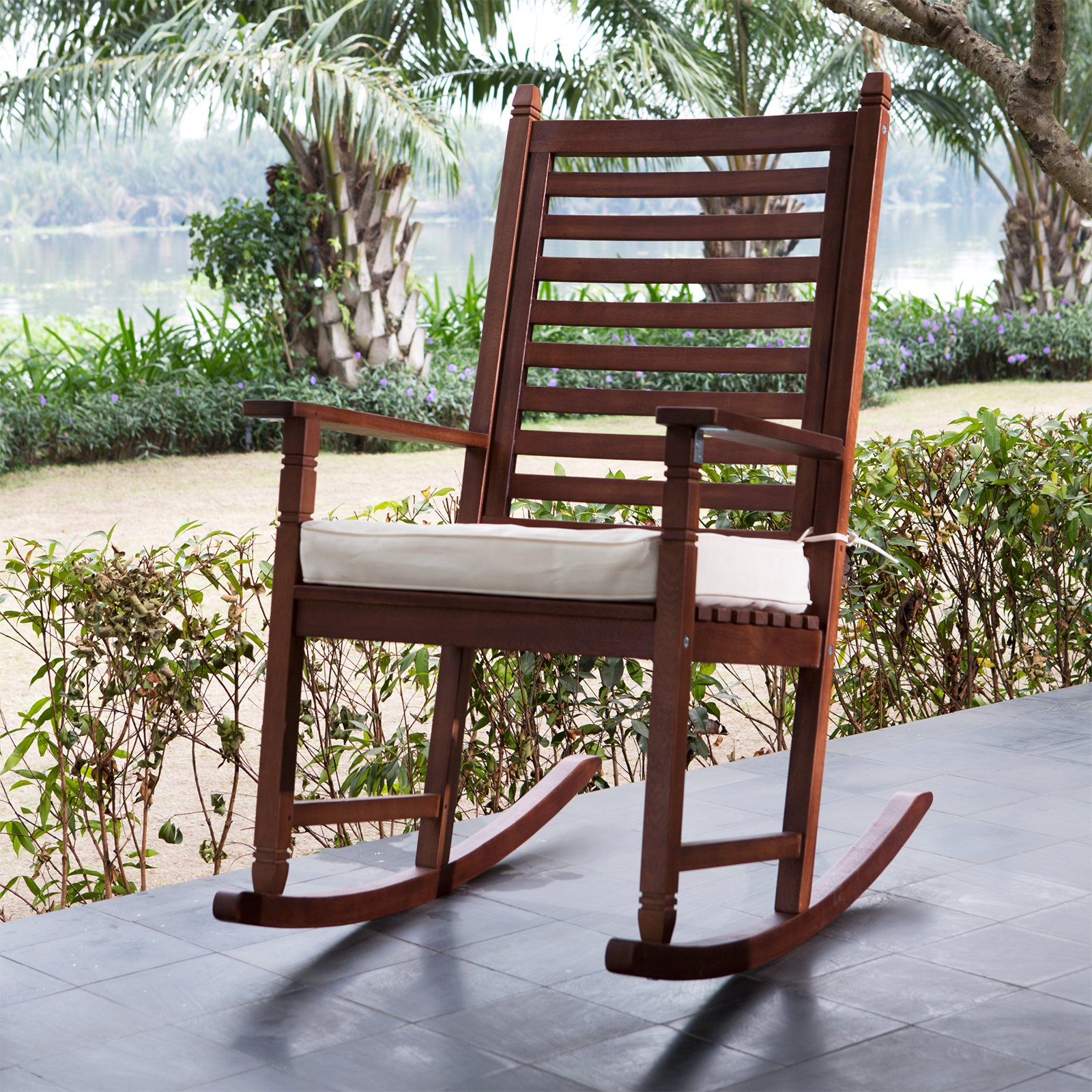 Image of: Nice Outside Rocking Chairs