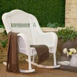 Nice Wicker Rocking Chair
