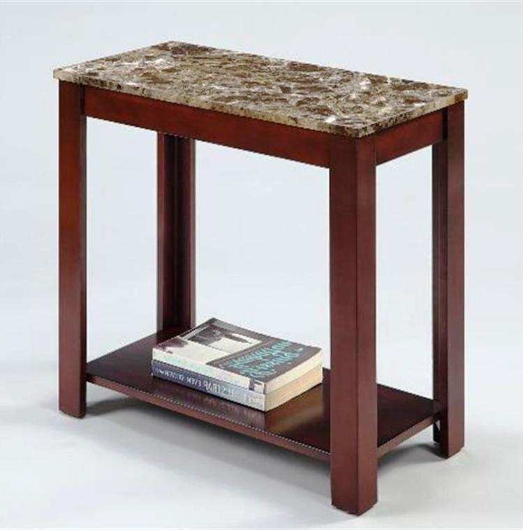 Image of: Oak Chairside Table