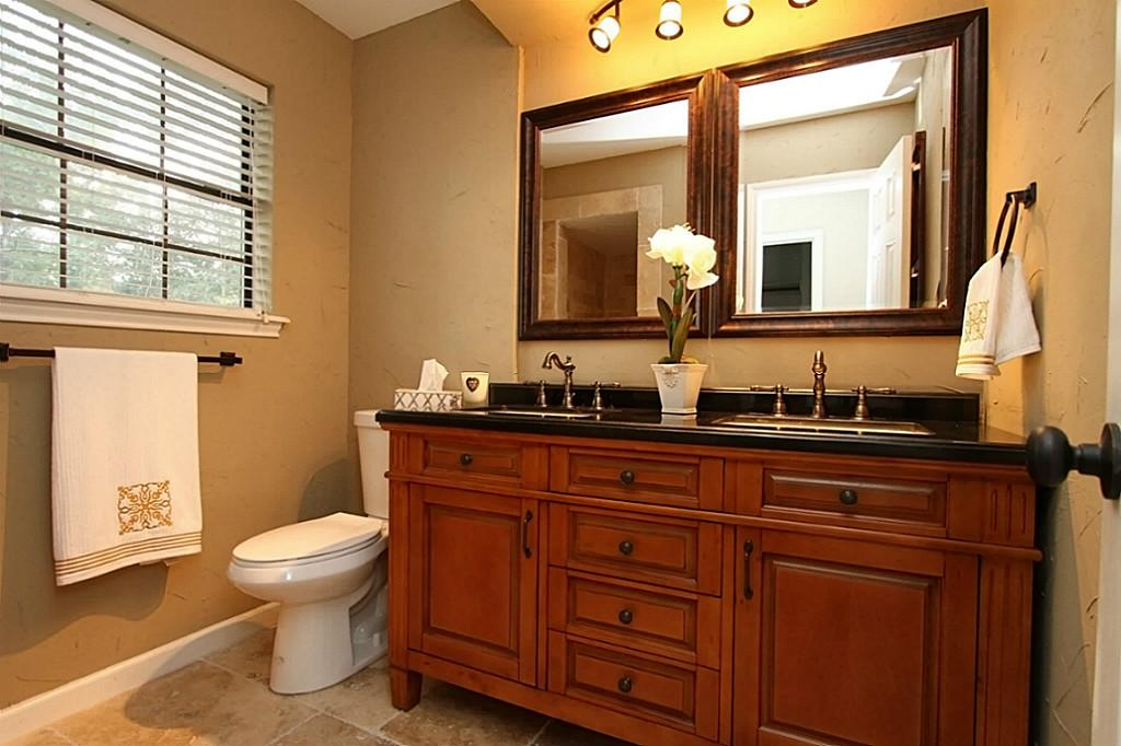 Image of: Oil Rubbed Bronze Mirrors Bathroom with Lamps