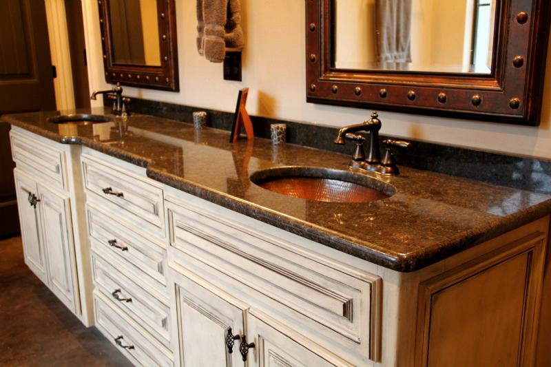 Image of: Oil Rubbed Bronze Mirrors Bathroom
