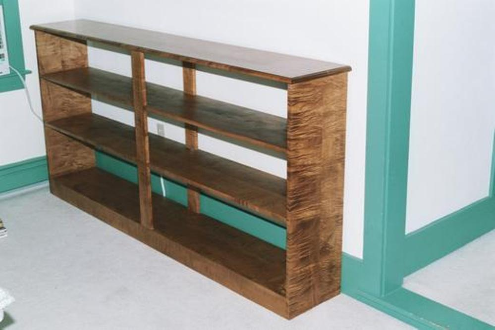 Image of: Open back bookcase ideas