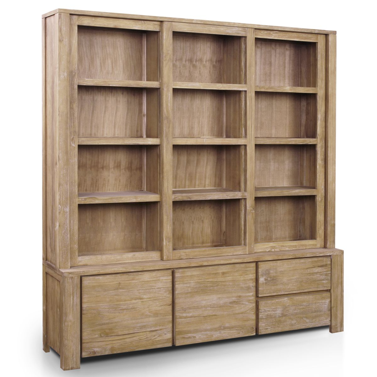 Image of: Original Bookcase With Glass Doors