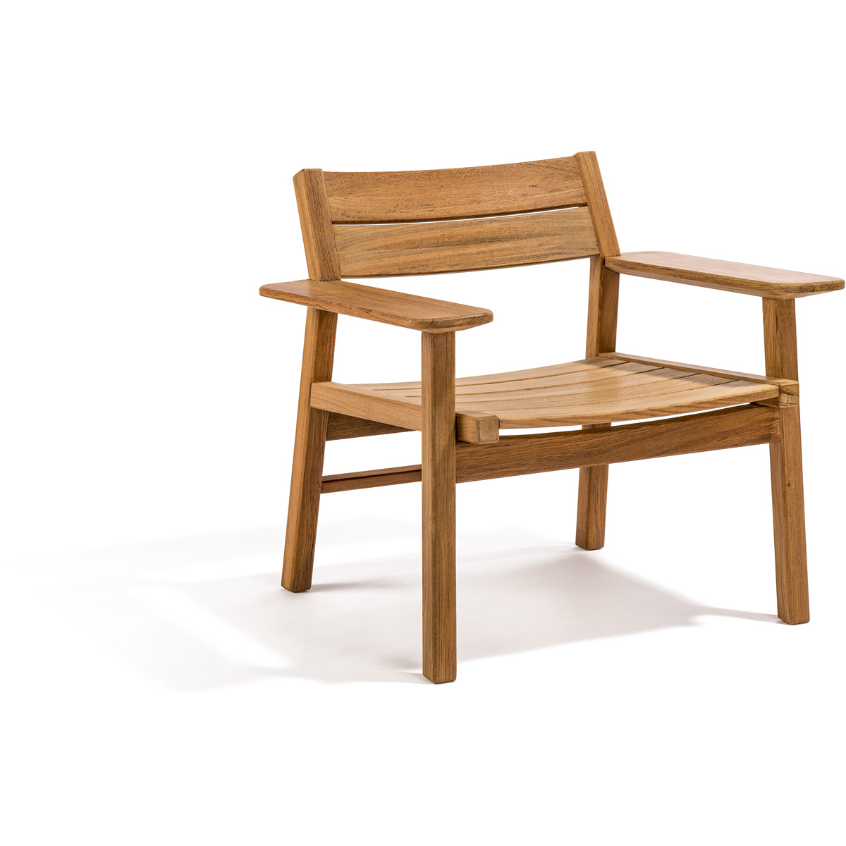 Image of: Original Teak Lounge Chair