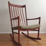 Original Teak Rocking Chair