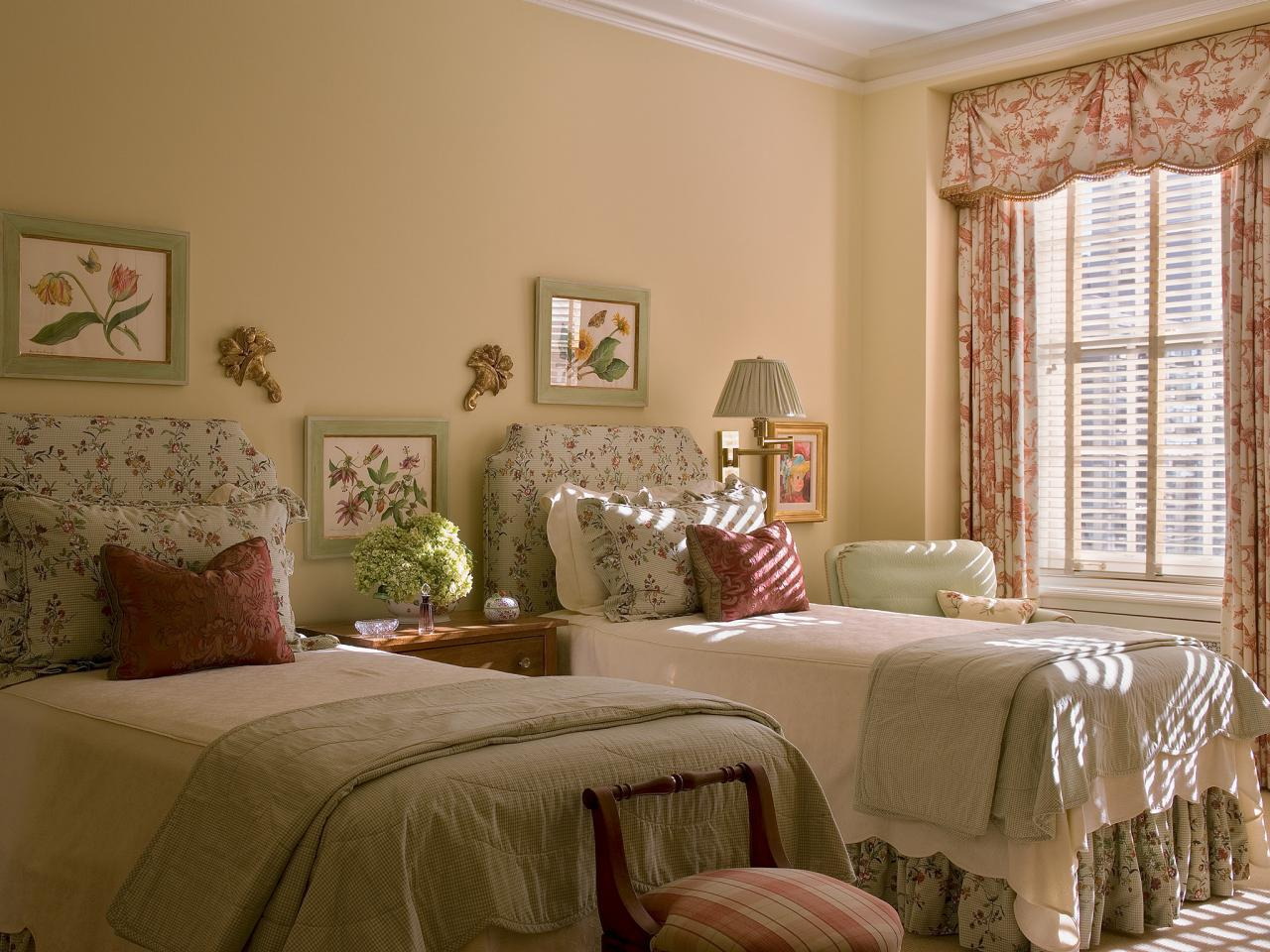 Image of: Original Twin Bed Guest Room Ideas
