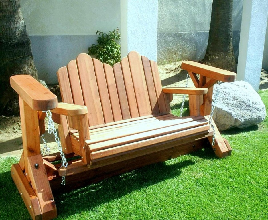 Image of: outdoor glider chair design