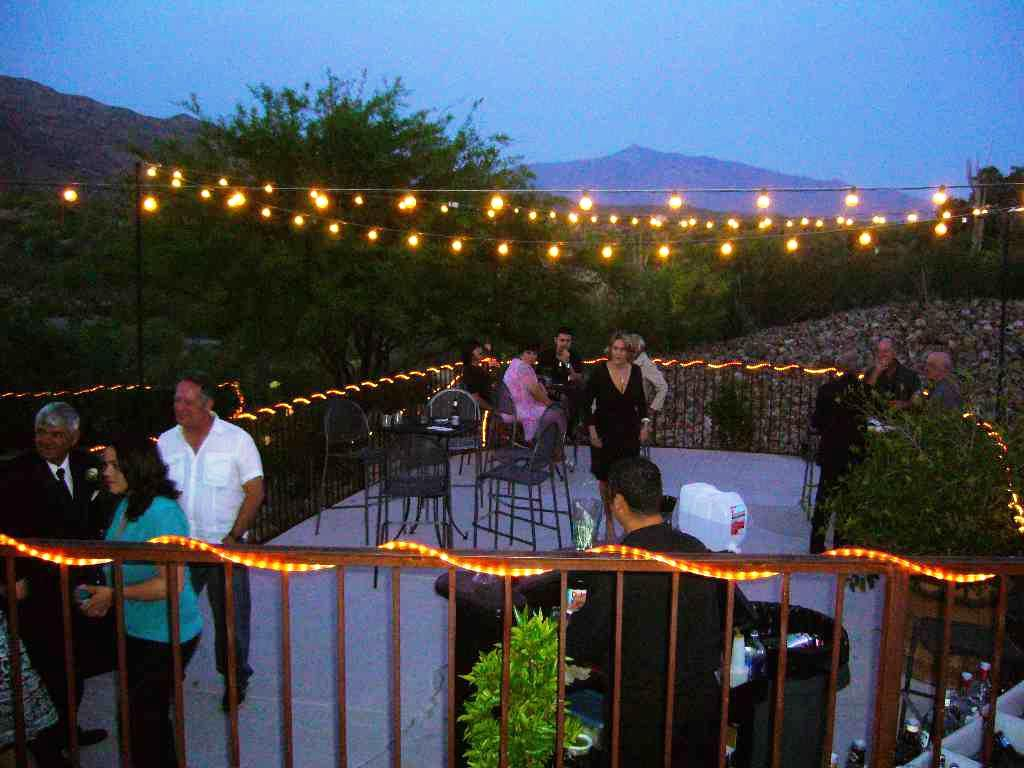 Image of: Outdoor Patio String Lights Amazon