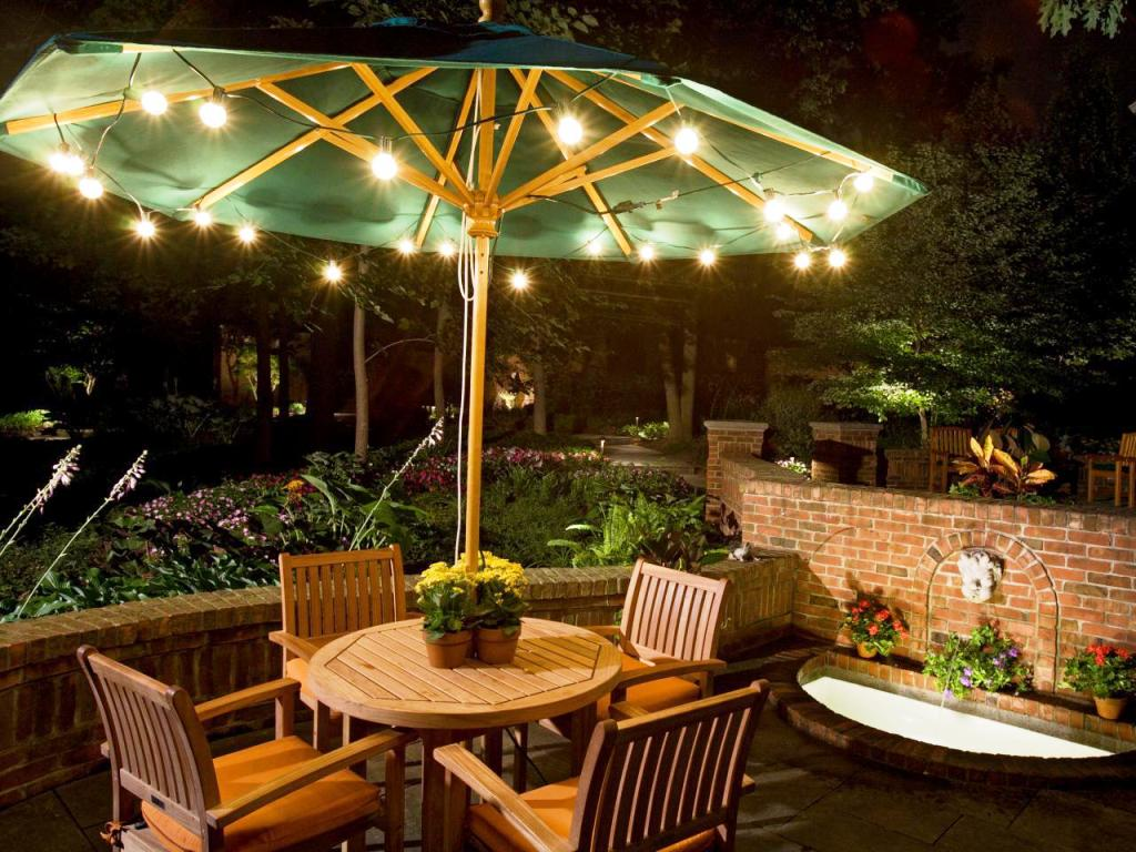 Image of: Outdoor Patio String Lights Canada