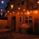 Outdoor Patio String Lights Globe