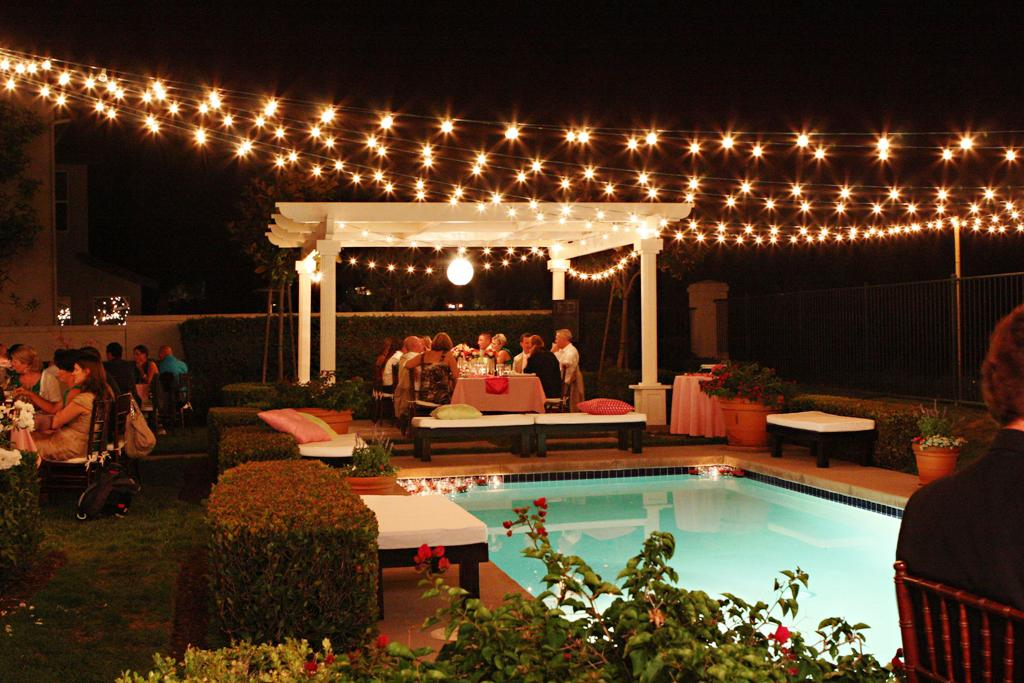 Image of: Outdoor Patio String Lights Led