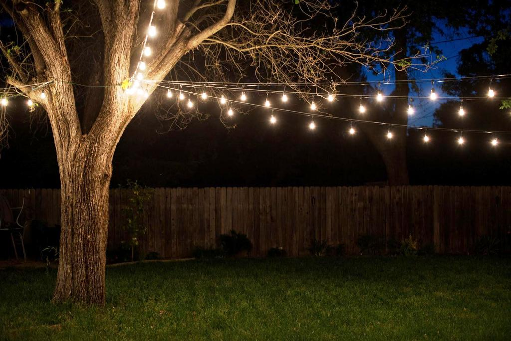 Image of: Outdoor Patio String Lights Target