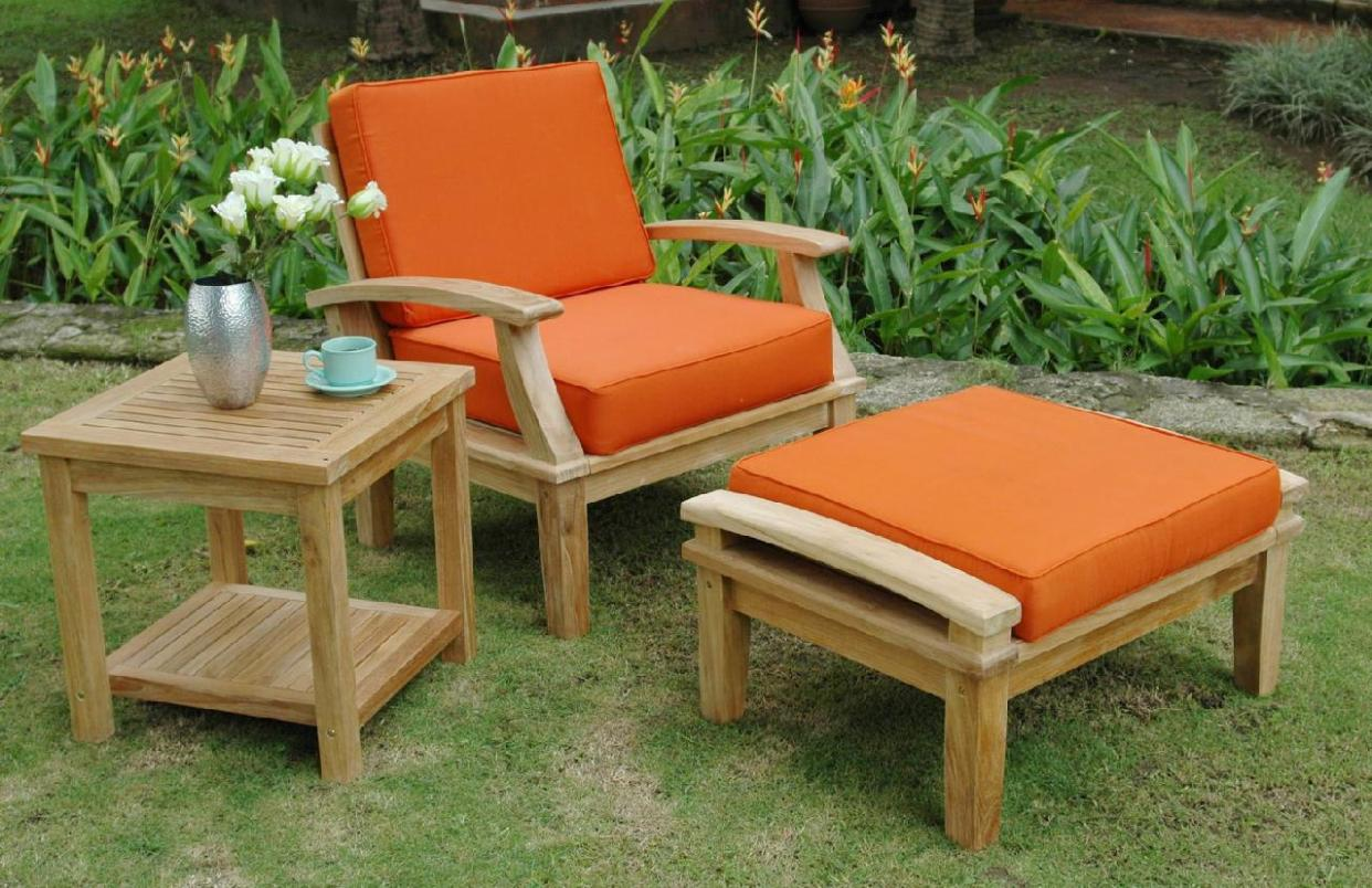 Image of: Outdoor Recliner Chair Cushions
