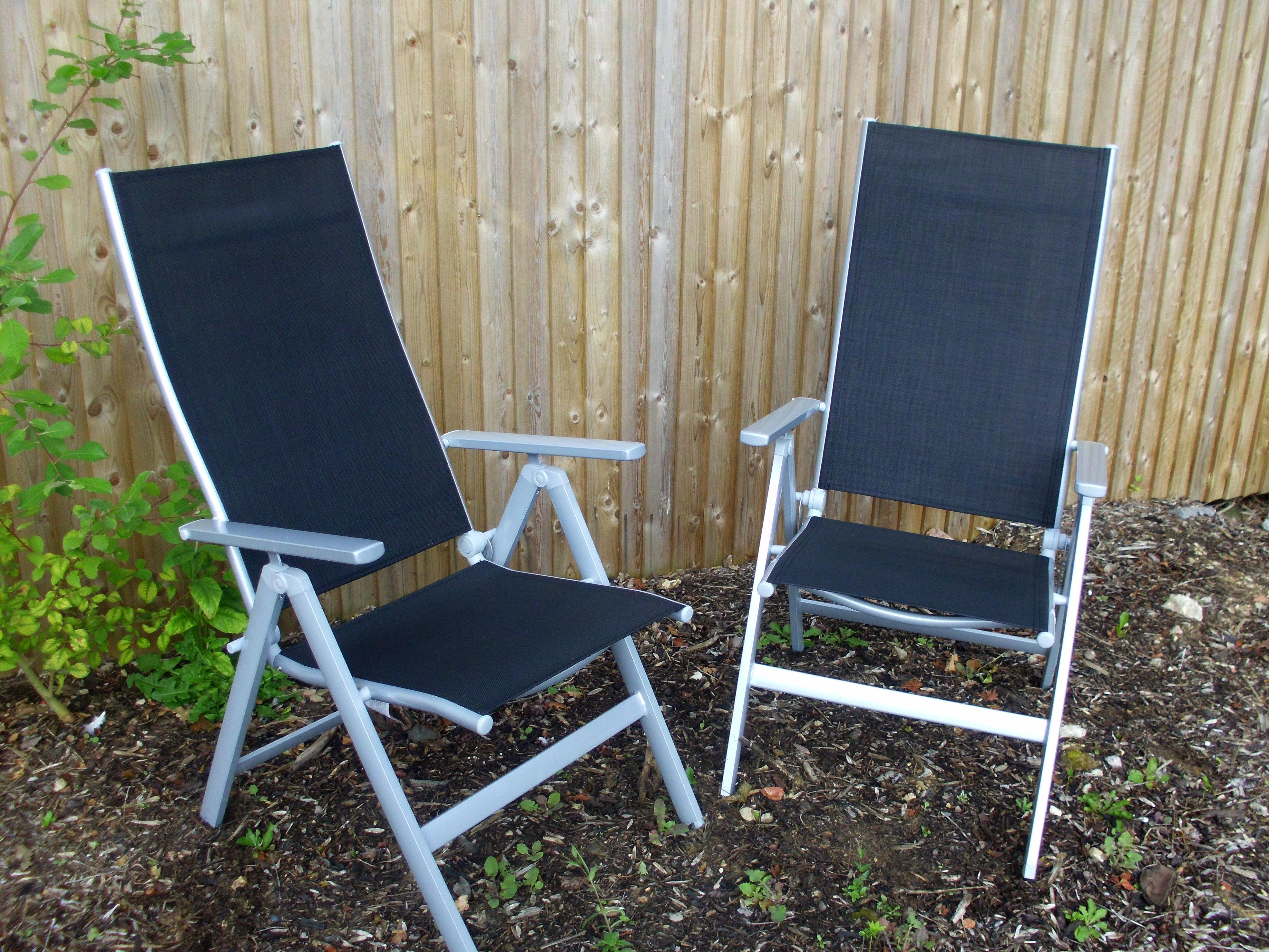 Image of: Outdoor Recliner Chair With Footrest