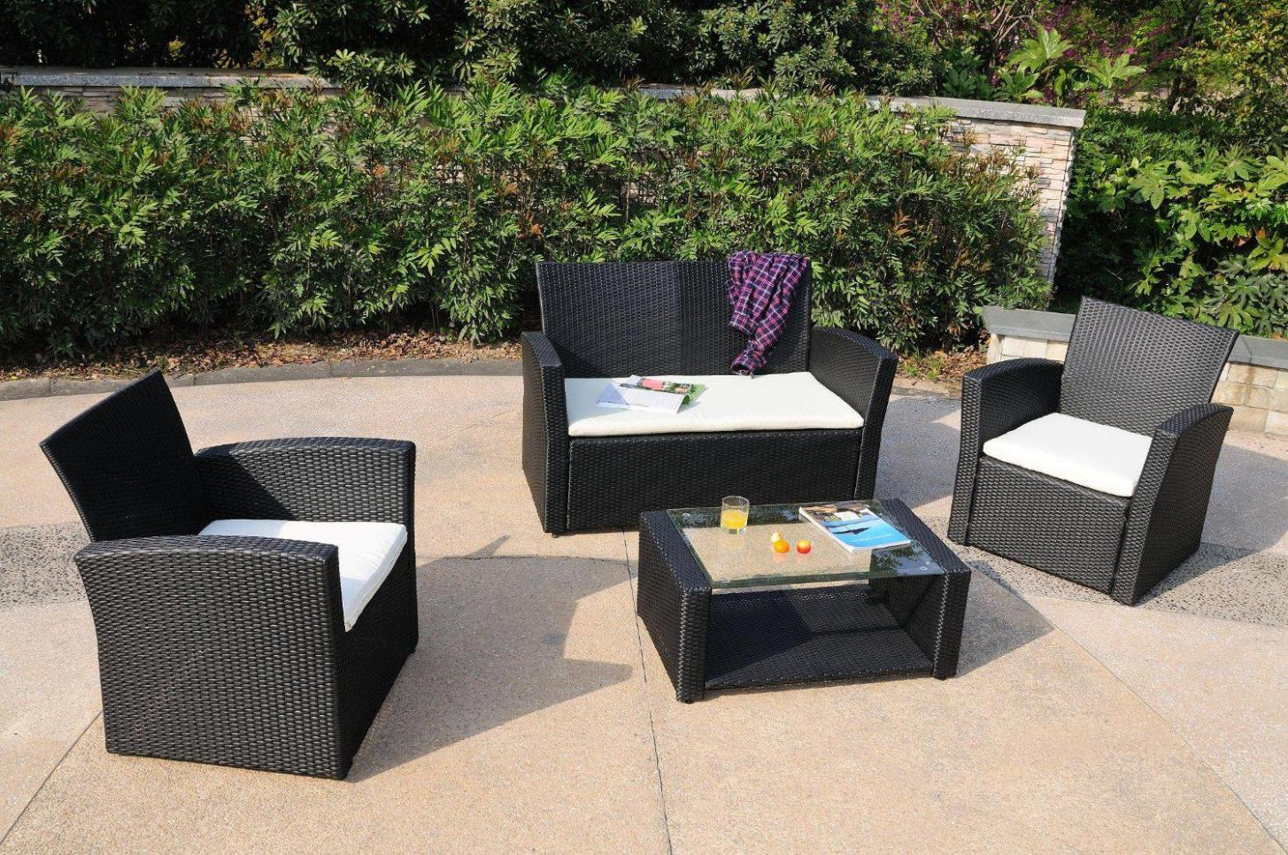 Image of: Outdoor Reclining Chair And Ottoman