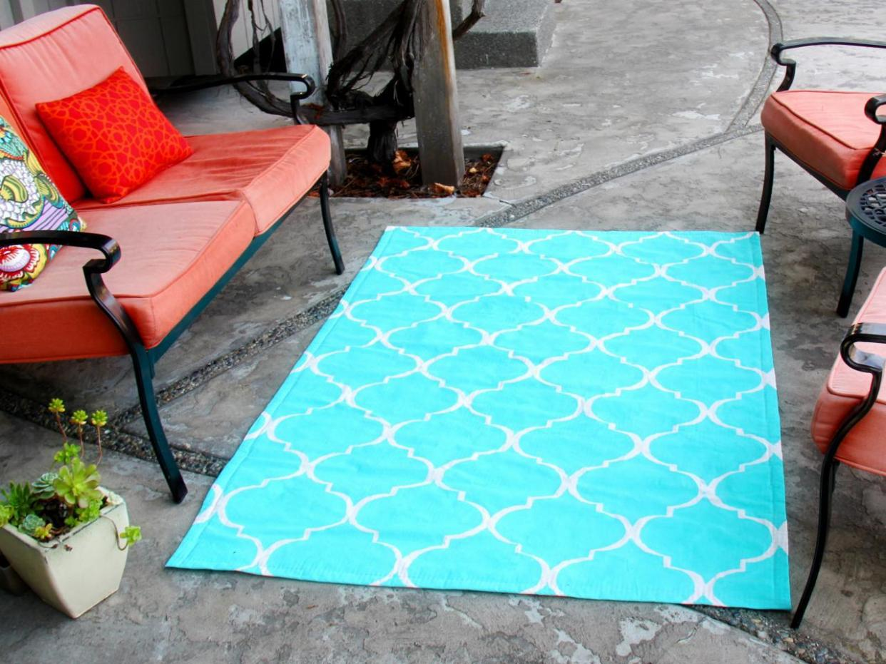 Image of: Outdoor Rugs For Patios 5 X 7