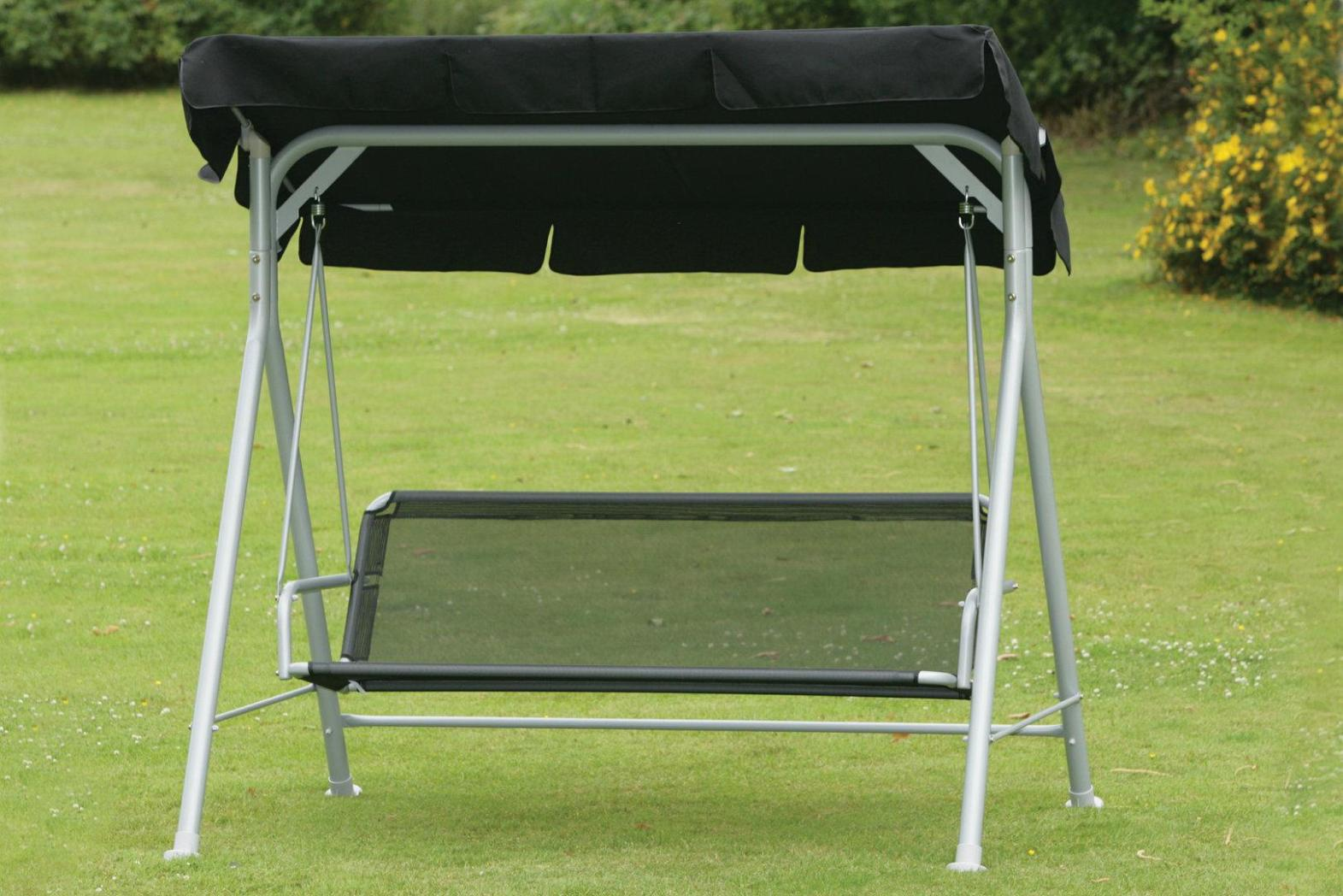 Image of: Outdoor Swing Chair With Canopy