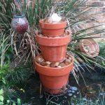 Outdoor Water Fountain Pots