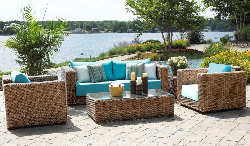Image of: outdoor wicker chairs cheap