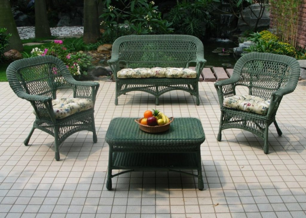 Image of: outdoor wicker chairs sale