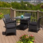 outdoor wicker chairs sets