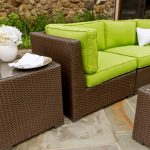 outdoor wicker chairs and table