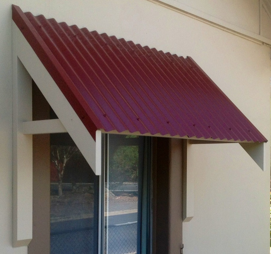 Image of: Outdoor Window Awnings Screens